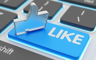 Abschied von der klassischen Tafel, Facebook Like