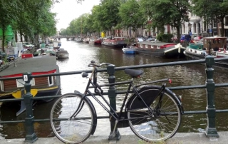 Kanal in Holland.