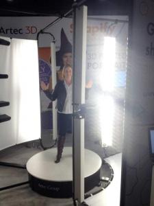 3D Scan vom Menschen Artec Shapify