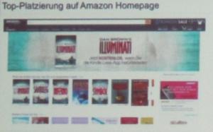 »Illuminati«(Dan Brown, top platziert auf Amazon, Januar 2016